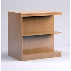 "Russwood Stately Series Standard Bookcase Finish: Natural Oak, Size: 36"" H x 36"" W x 24"" D"