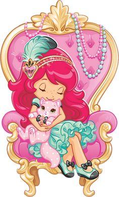 Strawberry Shortcake Pictures, Strawberry Shortcake Coloring Pages, Strawberry Shortcake Characters, Cute Disney Wallpaper, Cute Wallpaper Backgrounds, Cute Wallpapers, Clipart, Kindergarten Drawing, Cartoon Girl Drawing