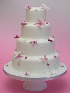 torta mariposas
