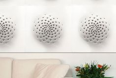 Corian '3D' Collection Phyllotaxis, image: Du Pont