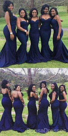 Sparkly Prom Dresses, Popular Mermaid Spaghetti Straps Long Mermaid Bridesmaid Dresses for Wedding Party Breeze Bridal Navy Blue Bridesmaid Dresses, Mermaid Bridesmaid Dresses, Navy Bridesmaids, Designer Bridesmaid Dresses, Prom Dresses, Mermaid Dresses, Bridesmaid Outfit, Bridesmaid Makeup, Navy Blue Groomsmen