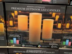 Flameless Candles With Remote Costco Keter Easy Grow Elevated Bed Costco  Hunny Likes  Pinterest