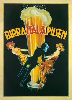 Italian beer poster