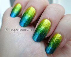 Tropical Gradient by fingerfood - Nail Art Gallery nailartgallery.nailsmag.com by Nails Magazine www.nailsmag.com #nailart