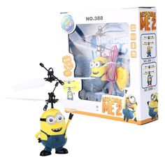 2016 Hot Sale Movie Character RC Minions Aircraft Induction Helicopter Kid Child Toys Drop Shipping #>=#>=#>=#>=#> Click on the pin to check out discount price, color, size, shipping, etc. Save and like it!