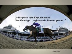 Run California Chrome! God keep all the horses and jockeys safe!