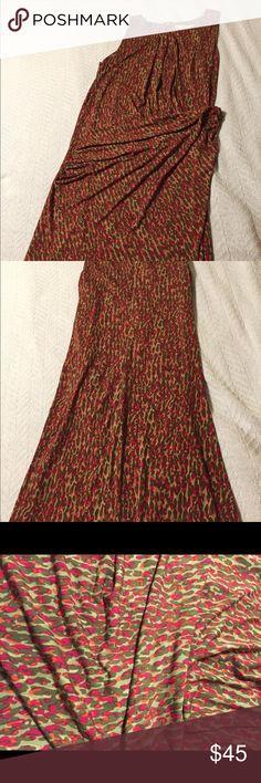 Michael Kors Multi Colored Dress Jewel toned colored Michael Kors Sleeveless Dress. Has gathers on side. Excellent condition- No flaws. Worn 2x Michael Kors Dresses Midi
