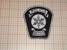 MIranda!!!!' Venezuela Police Policia Estrado **Miranda** Patch