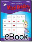 Mind Benders® Level 3 - eBook for 3rd Grade