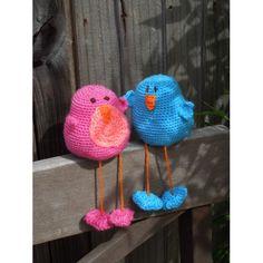 (PDF PATTERN) Chick Beanbag Birds