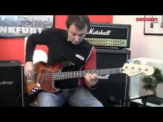Squier By Fender Vintage Modified Jazz Bass RW 3TS - YouTube