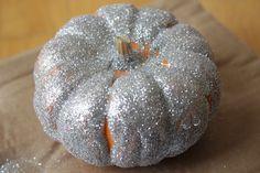 Make your own DIY glitter pumpkins! Learn how @BrightNest Blog