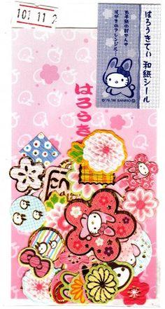 Sanrio Hello Kitty Stickers Washi Paper