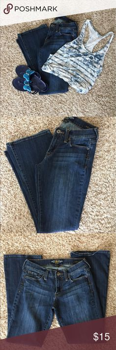 Lucky 🍀Brand Jeans Lucky Brand Jeans. Size 2/26 reg. Preowned in great condition with no known tears snags or stains. Comes from smoke free and clean home. Remember to save when you bundle. Thanks. Lucky Brand Jeans