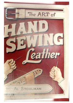 Costura a mano en cuero