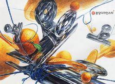 분당 디자인스타 미술학원 수업중.. 학원교재를 이용한 시험대비 채색연습입니다 Markers, Design Art, Drawings, Painting, Inspiration, Biblical Inspiration, Sharpies, Painting Art, Sketches