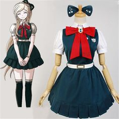 christmas costumes tutu christmas costumes anime Super Danganronpa Sayonara Zetsubou Gakuen Sonia Nevermind Cosplay Costumes And Wig Halloween Christmas Costume For Women Cute Cosplay, Cosplay Outfits, Cosplay Wigs, Cosplay Style, Christmas Costumes, Halloween Outfits, Halloween Christmas, Dress With Bow, Fancy Dress