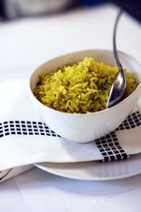 Saffron Infused Rice Pilaf