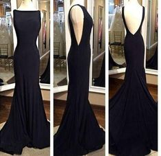 Beautiful Prom Dress, black prom dresses backless prom dress chiffon prom dress long prom dresses 2018 formal gown evening gowns for teens Meet Dresses Backless Prom Dresses, Black Prom Dresses, Pretty Dresses, Dress Prom, Dress Black, Party Dress, Prom Gowns, Backless Gown, Bridesmaid Dresses