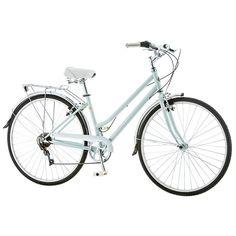 Women's Schwinn Wayfarer 700c Retro City Bike, Green