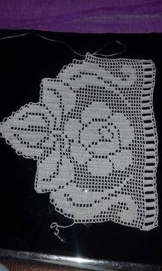 Crochet Spiral - Crochet for beginners Crochet Home, Love Crochet, Hand Crochet, Thread Crochet, Crochet Doilies, Crochet Flowers, Spiral Crochet, Filet Crochet, Crochet Borders