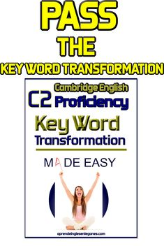 This book will help you understand and prepare for this part of Cambridge English : C2 Proficiency exam so that you can pass it without any problems. #c1advanced# #c2proficiency# #opencloze #usedto #would #pasthabits #keywordtransformation #gappedtext Cambridge English. Advanced grammar - grammaire anglaise avancée - Gramática inglesa avanzada - fortgeschrittene englische Grammatik - προηγμένη αγγλική γραμματική -zaawansowana gramatyka języka angielskiego - ngữ pháp tiếng anh nâng cao