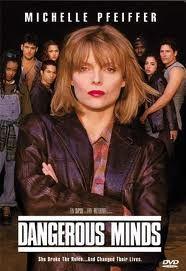 Dangerous Minds - Michelle Pfeiffer was amazing in this film. Michelle Pfeiffer, 90s Movies, Great Movies, See Movie, Movie Tv, Dangerous Minds Movie, George Dzundza, Little Dorrit, Cinema Tv