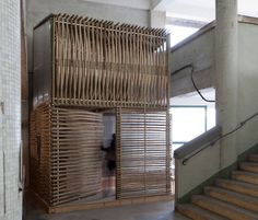 'bamboo micro-housing' by dylan baker-rice silver A' design award winner in the…