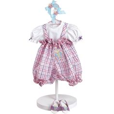 "Adora Toddler Time Baby Butterfly Kisses Doll Outfit Fits Most 20"" Play Dolls"