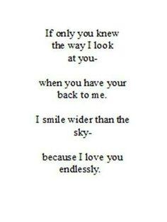 Endlessly...
