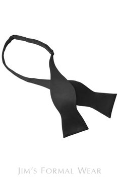 A solid black bow tie is a perennial classic. Pairs well with any tuxedo. Coordinate your look with a matching cummerbund or vest. Black Bow Tie, Tie Bow, Black Satin, Solid Black, Tuxedo Accessories, Groom And Groomsmen, Formal Wear, Bows, Classic