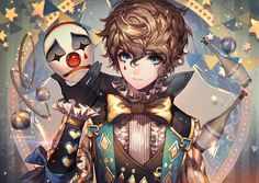 artist: kawacy Description: gorgeous style of anime that's hard to find anywhere else. beautiful colors and forms and lighting. --- warnings: blood, foul language, shounen-ai
