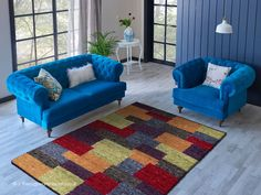 Patchwork Rugs, Patchwork Patterns, Wool Rugs, Wool Yarn, Colorful Rugs, Morocco, Hand Weaving, Area Rugs, Vibrant