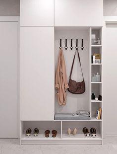 깔끔하고 실용적인 현관 인테리어 : 네이버 블로그 Shoe Rack, Entryway, Interior Design, Furniture, Home Decor, Entrance, Nest Design, Decoration Home, Home Interior Design