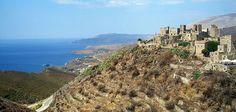 Vatheia, un pueblo casi abandonado - http://www.absolutgrecia.com/vatheia-un-pueblo-casi-abandonado/