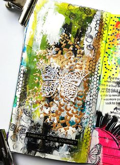 Susanne Rose Designs: Art Journal Page Tutorial for Beginners