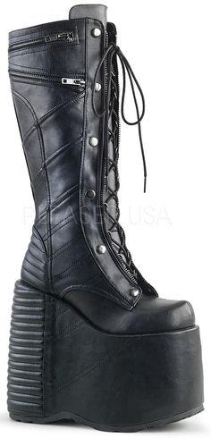 da4406b3eeeb Demonia Slay 320 Shoes Heels Boots