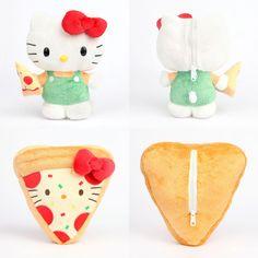 #HelloKitty Reversible Plush from #Sanrio pizza!