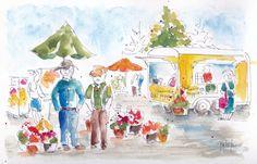 Farmers Market Prairie Poppins-w