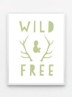 Sage Green Gender Neutral Nursery Decor Deer Boys Room Wall Art Green Nursery Art Woodland Nursery Decor Wild and Free Baby Boy Nursery Art Deer Nursery, Baby Girl Nursery Decor, Woodland Nursery Decor, Nursery Neutral, Baby Boy Nurseries, Nursery Art, Nursery Ideas, Baby Rooms, Baby Boy Bedding Sets