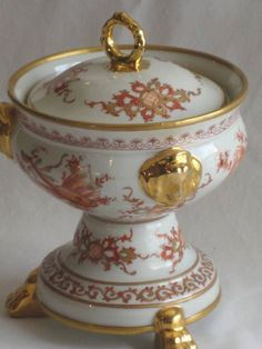 GREAT FRENCH LIMOGES HAND PAINTED PIECE MADE FOR LAMMERT S ST. LOUIS, MISSOURI!