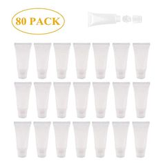 💗MATERIAL: the lip gloss empty tube is made of PVC material, which is soft, odor-free and non-toxic, durable and waterproof, can sever for a long ti Lip Gloss Homemade, Diy Lip Gloss, Lip Gloss Tubes, Lip Balm Tubes, Lip Balm Containers, Cosmetic Containers, Makes You Beautiful, Pvc Material, Aloe Vera Gel