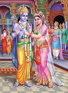 Vivah Panchami is a perfect time to solve all your marriage woes and frustrations because Lord Rama and Mother Sita are extremely benevolent during this time. Ram Sita Image, Ram Image, Image Hd, Shri Ram Wallpaper, Krishna Wallpaper, More Wallpaper, Lord Vishnu Names, Fixing Marriage, Rama Lord