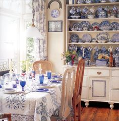 More blue and white dishes to love