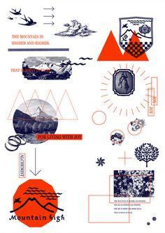 mountain high 2012 Art Art director cover Artwork Visual Graphic Mixer…