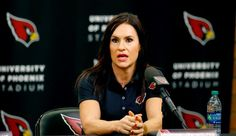 Jen Welter becomes first woman to coach in the NFL - Sports ...