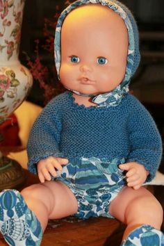 Nenucos American Girl, Baby Dolls, Cami, Doll Clothes, Childhood, Sewing, Knitting, Toys, Girls