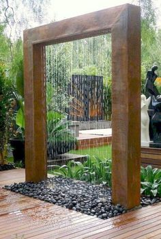 Impressive Fountains to Make Your Backyard More Beautiful - Craft and Home Ideas