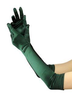 Superbes gants de gala satinés de haute qualité. Longueur 48,3 cm. Produit offert par NYfashion101 21212BL: Amazon.fr: Vêtements et accessoires