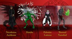 Dresden Files characters 8 by wildcard24.deviantart.com on @DeviantArt